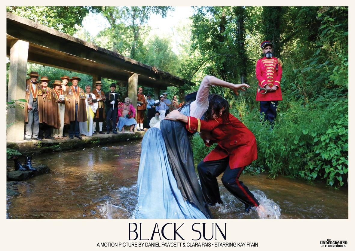 Poster for Black Sun (2016) Dir. Daniel Fawcett & Clara Pais