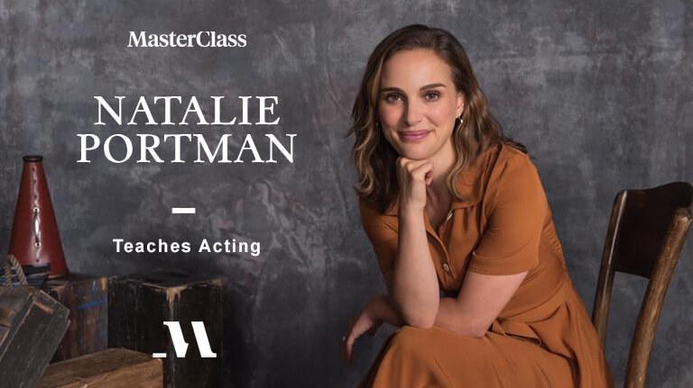 Natalie Portman Masterclass Teaches Acting