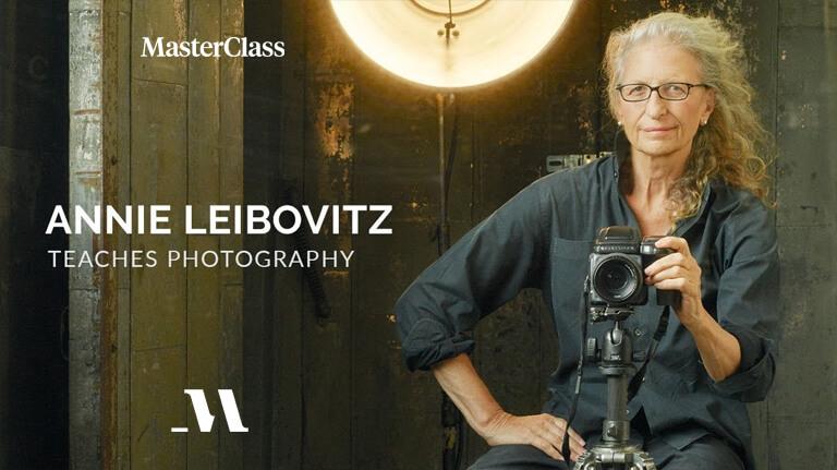 Annie Leibovitz MasterClass Teaches Photography
